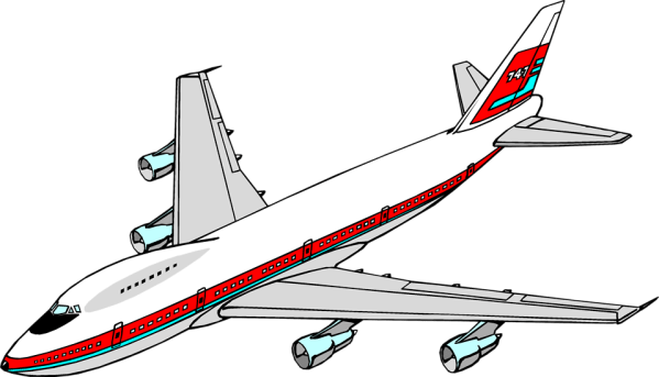 airplane free stock illustration