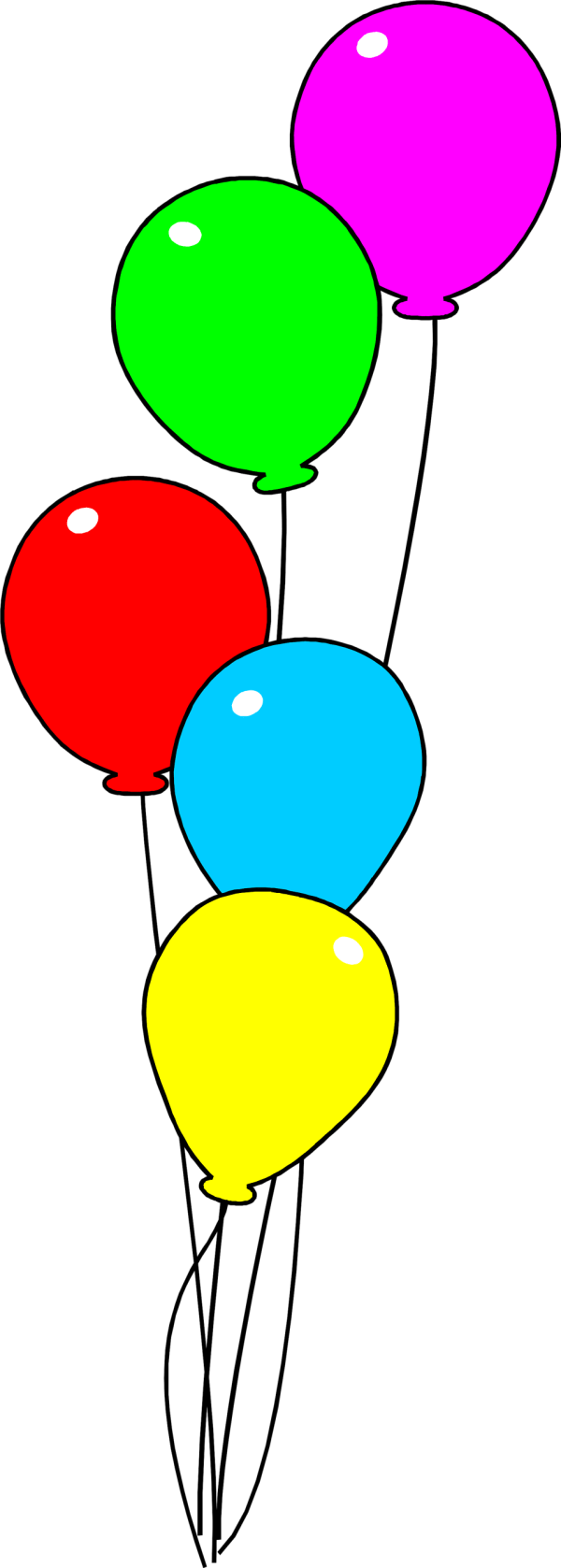 Balloons Free Stock Illustration Of Colorful
