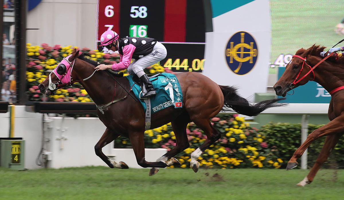 2018冠軍一哩賽圖輯 – 賽馬新聞 – 香港賽馬會