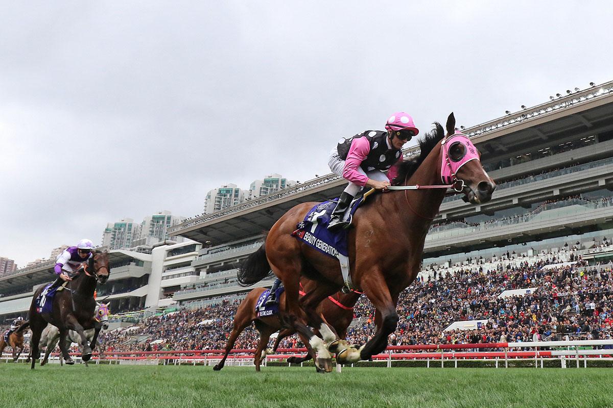 「美麗傳承」成功衛冕女皇銀禧紀念盃 – 賽馬新聞 – 香港賽馬會
