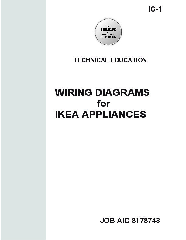 Guide Branchement Electrique Electromenager IKEA Whirlpool