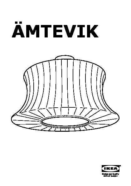 ämtevik Abat Jour Vert Ikea France Ikeapedia