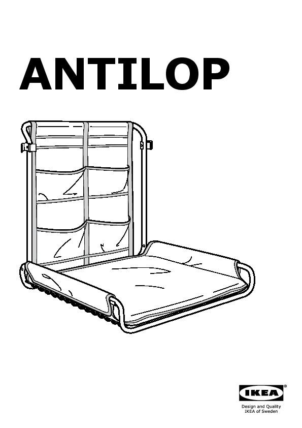 Antilop Table à Langer Murale Blanc Ikea Switzerland