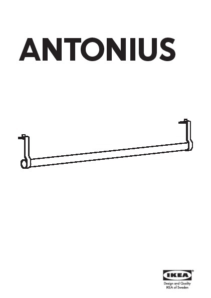 antonius clothes rail with rail luminaire ikea