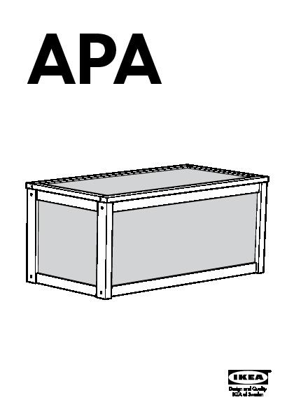 apa coffre a jouets blanc pin ikeapedia