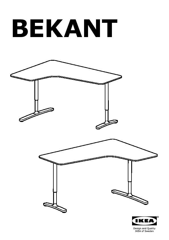 Bureau D Angle Ikea : bureau, angle, BEKANT, Bureau, D'angle, Bouleau, Plaqué,, (IKEA, Canada, (French)), IKEAPEDIA
