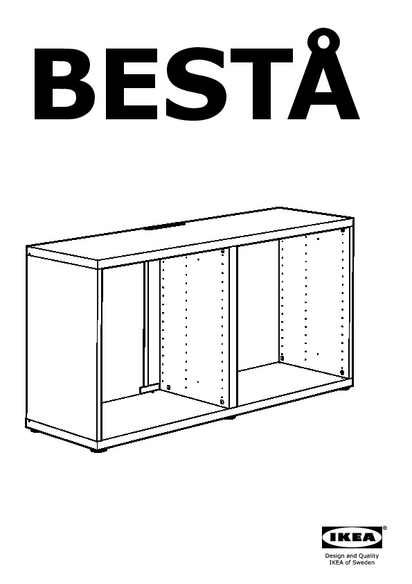 Bestå Tv Unit With Drawers Black Brown Selsviken High Gloss