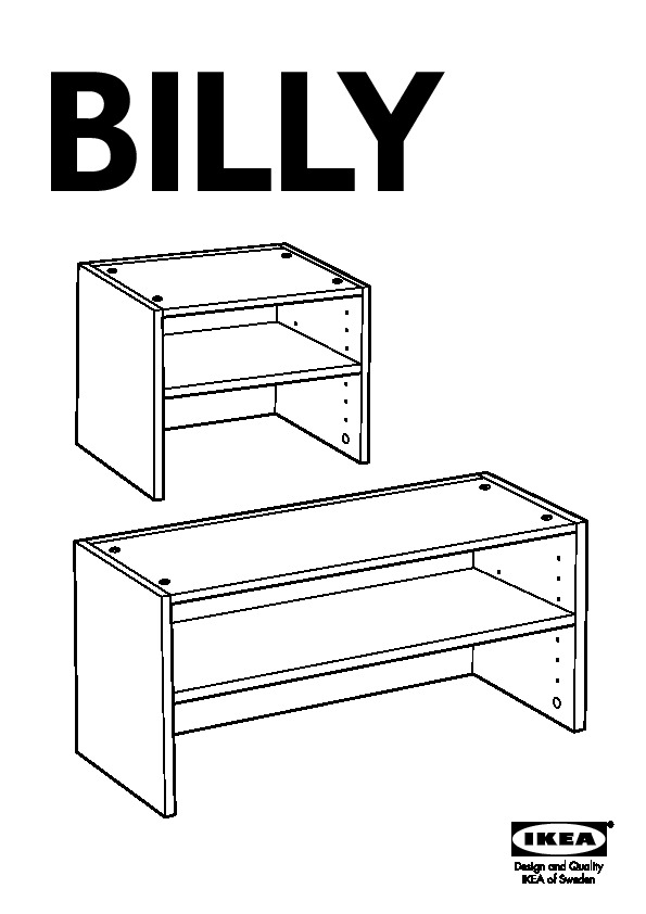 Billy Bookcase With Height Extension Unit Birch Veneer