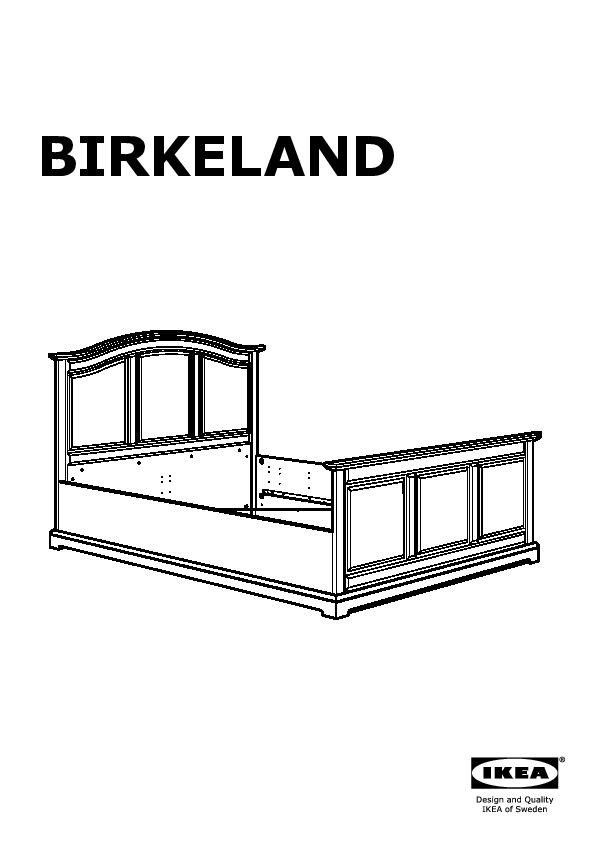 Ikea Bed Frame Skorva Instructions