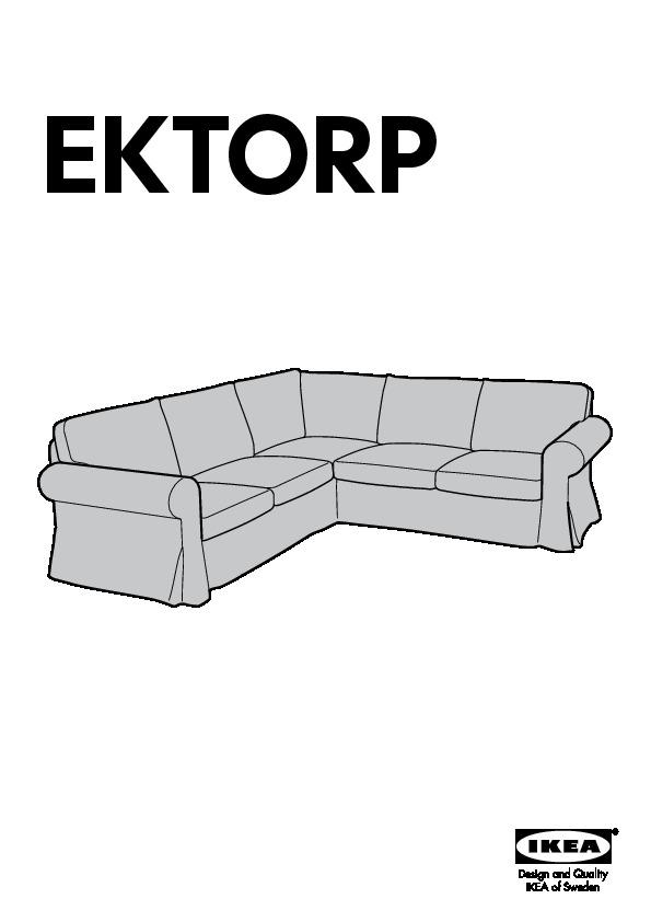 Ektorp Canapé Dangle 22 Places Tygelsjö Beige Ikea France