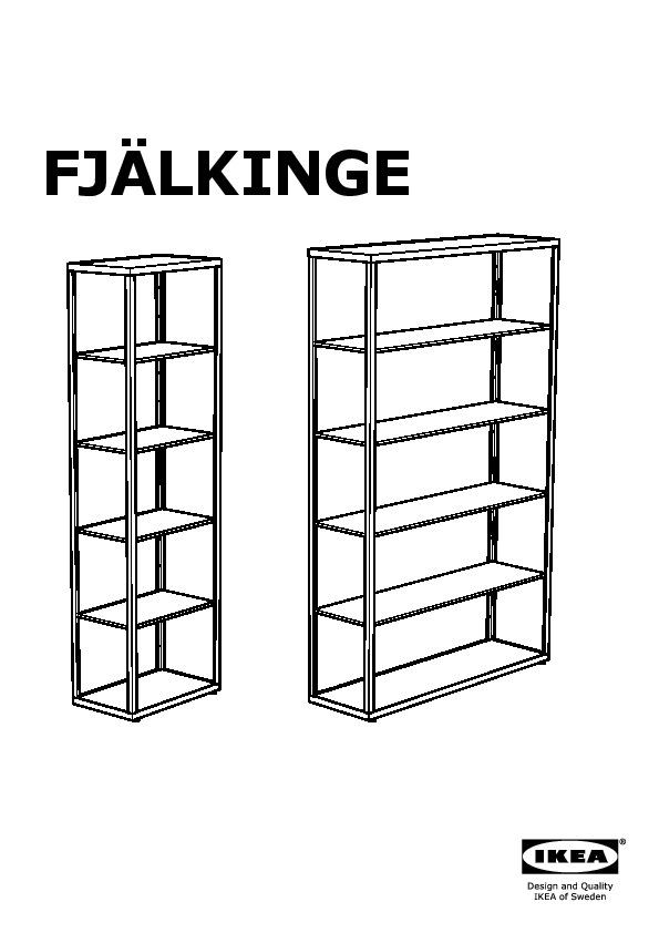 FJÄLKINGE Shelving unit white (IKEA Canada (English