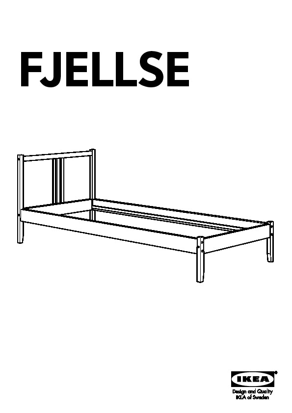 Ikea Fjellse Assembly Instructions