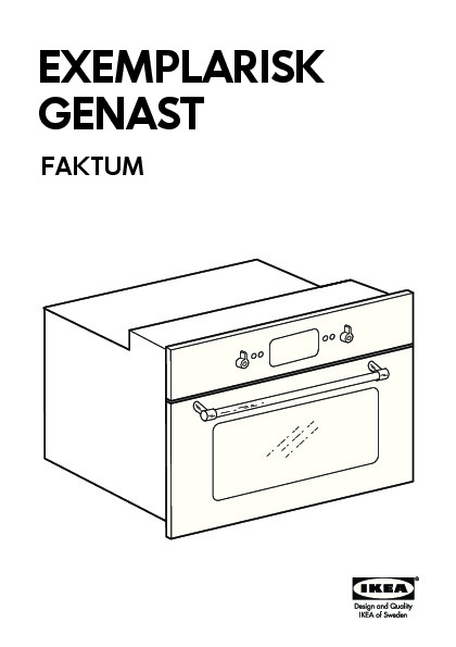 GENAST Microwave combi with forced air stainless steel