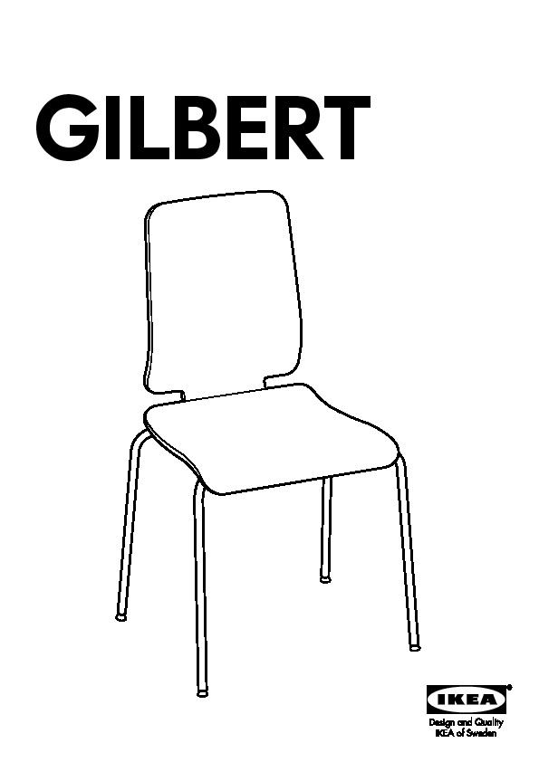 Chaise Ikea Gilbert Table De Lit