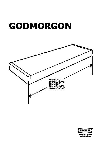 GODMORGON Éclairage armoire ou applique, DEL (IKEA Canada