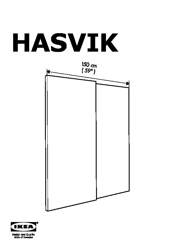 PAX Wardrobe white, Hasvik white (IKEA Canada (English