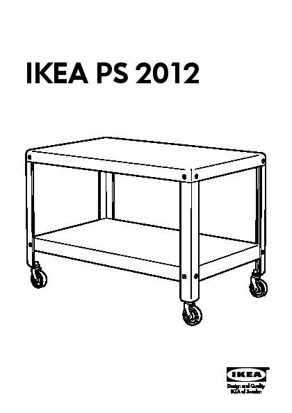 IKEA PS 2012 Coffee table dark turquoise (IKEA United