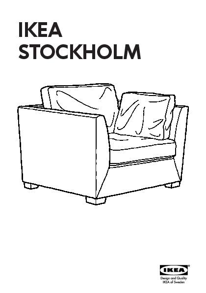 ikea stockholm fauteuil 1 5 places