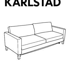 Karlstad 3 Seat Sofa Bed Cover Small Compact Sofas Uk Three Isunda Grey Ikea United Kingdom