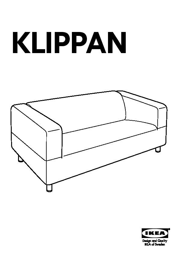 Divani 2 3 Posti Ikea : divani, posti, KLIPPAN, Divano, Posti, Granån, IKEAPEDIA