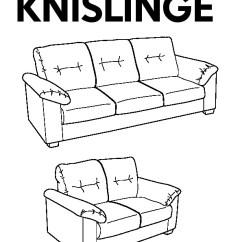 Knislinge Sofa Assembly Circular Sectional Sofas Idhult Black Ikea United States Ikeapedia