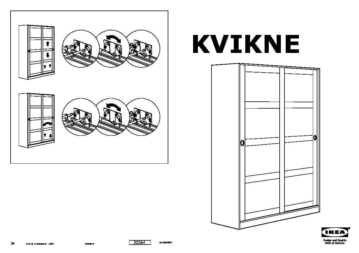 Kvikne Armoire Portes With Armoire 3 Portes Ikea