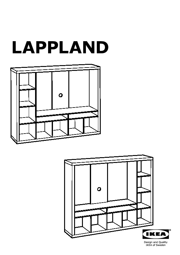 Ikea Expedit Tv Storage Unit Assembly Instructions