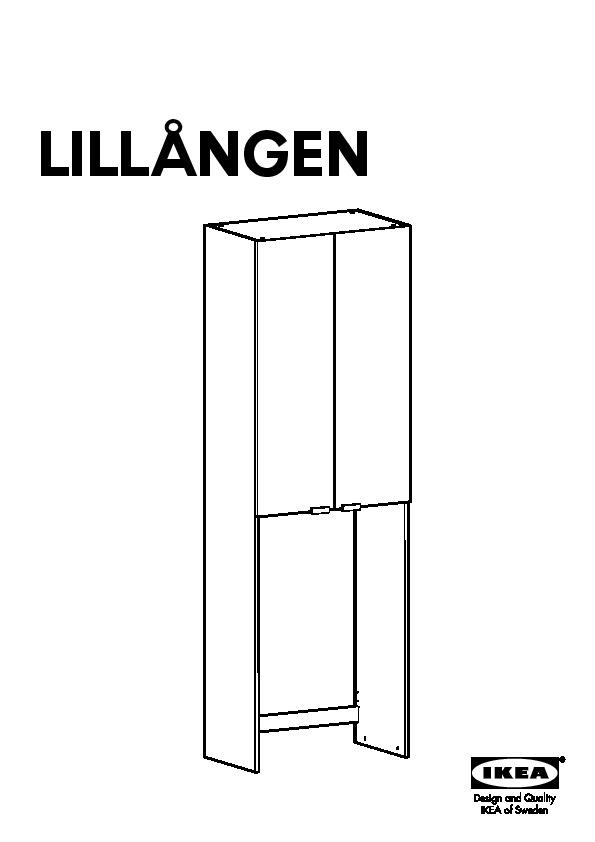 Lillangen Meuble Pour Machine A Laver Blanc Ikeapedia