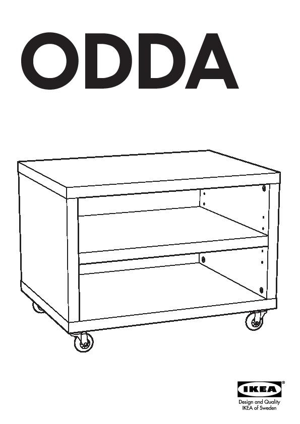 Odda Table De Chevet Blanc Ikea France Ikeapedia