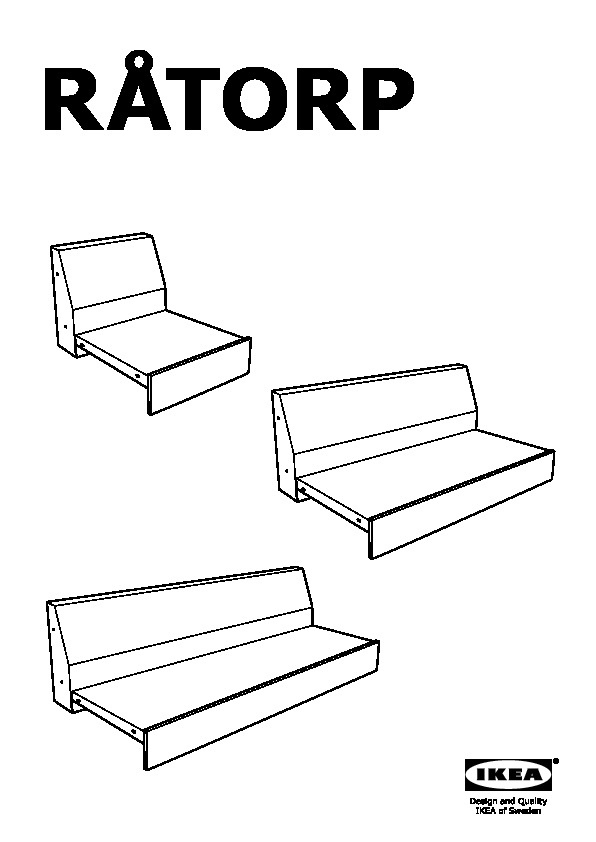Vimle Sofa Assembly Instructions