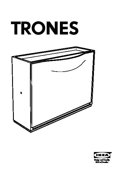Trones Armoire à Chaussuresrangement Noir Ikea France