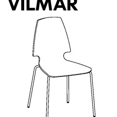 Vilmar Chair Instructions George Nakashima White Chrome Plated Ikea United States Ikeapedia Frame