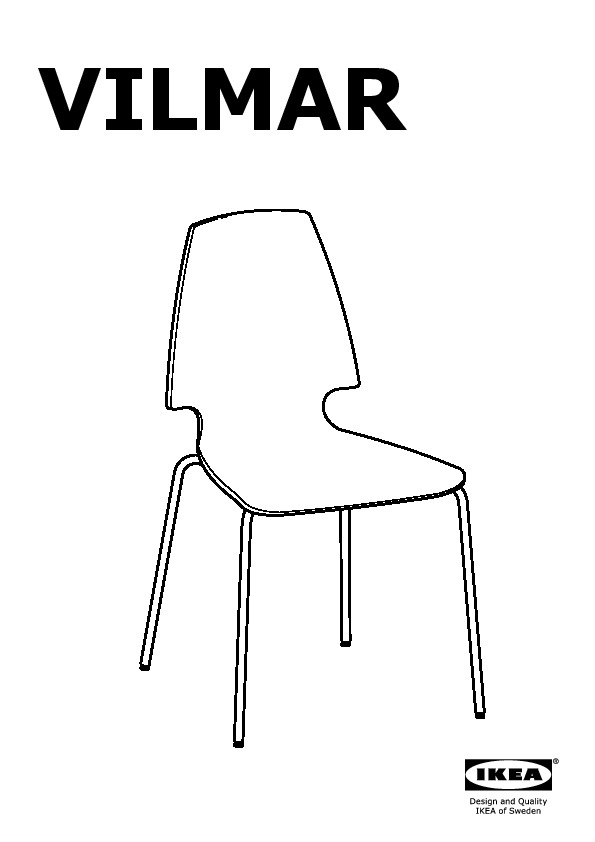 vilmar chair instructions delta children white chrome plated ikea united states ikeapedia frame