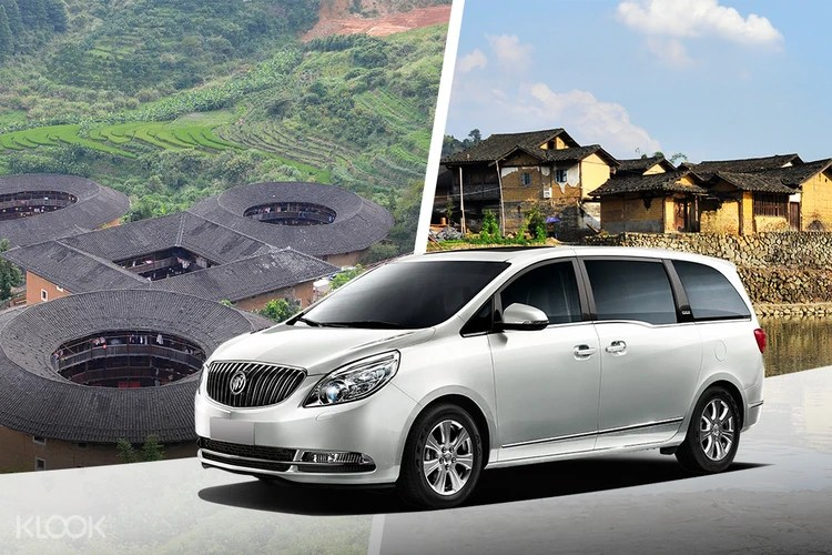 Private Transfer Between Xiamen City And Tianluokeng Tulou