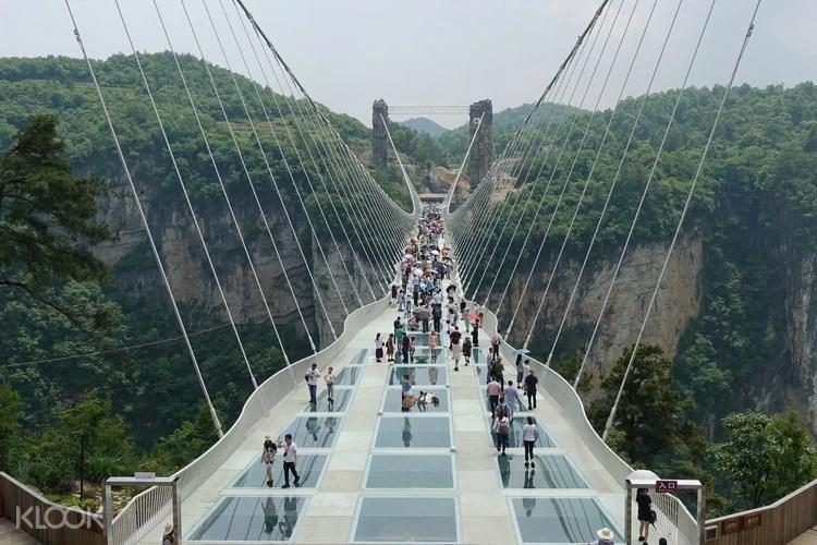 Private Zhangjiajie Grand Canyon Glass Bridge And Baofeng