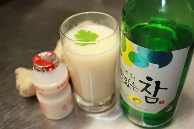 Yogurt Soju Ingredients