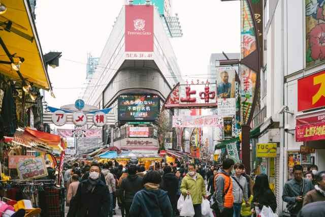 阿美橫町。(來源:www.flickr.com/photos/bryant966)