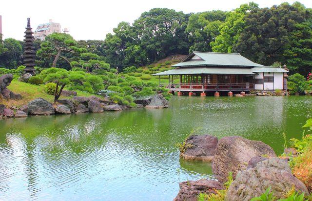 清澄庭園。(來源:ja.wikipedia.org)