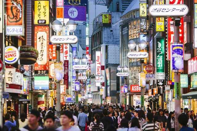 熱鬧的東京街頭。(來源:viaggianti.it)