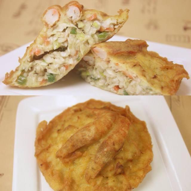 赤崁炸粿,圖片取自赤崁炸粿FB粉絲團。