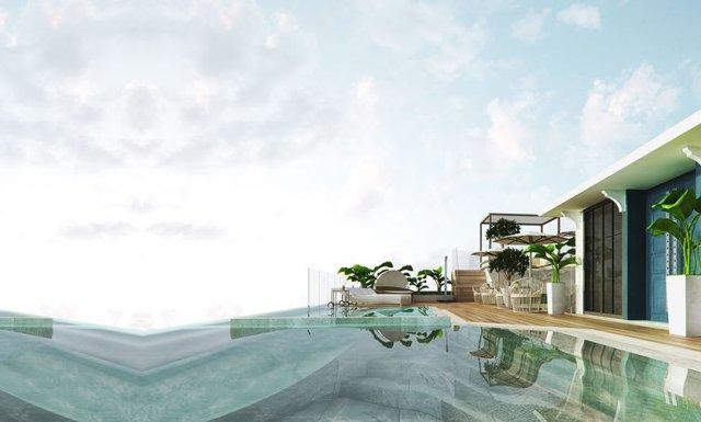 圖片取自Feliz Hotel Boracay官網。