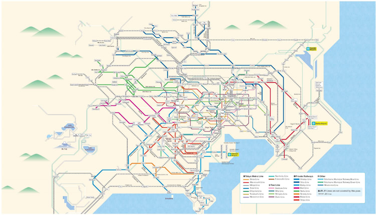 Greater Tokyo Pass 3 Day Unlimited Travel In Tokyo For Just