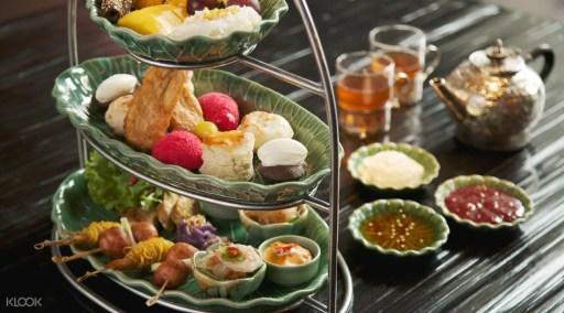 曼谷四面佛茶室 四面佛泰式下午茶