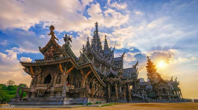 Image result for sanctuary of truth in pattaya