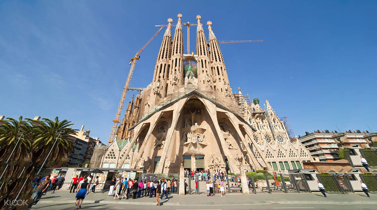 La Sagrada Familia Fast Track Guided Tour  Klook