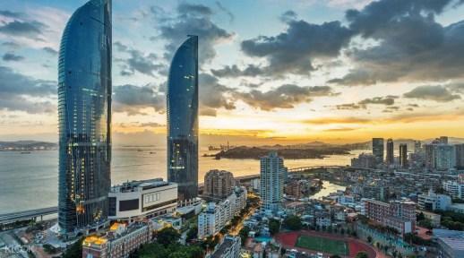 廈門景點,廈門世茂雲上 55樓觀光廳