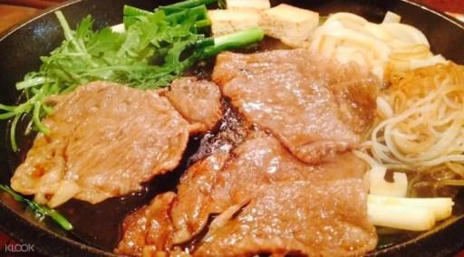 大阪必吃美食,北むら(北村)米芝蓮和牛壽喜燒