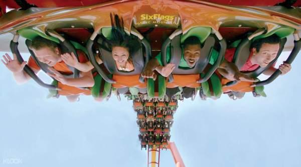 Six Flags Magic Mountain Ticket Klook