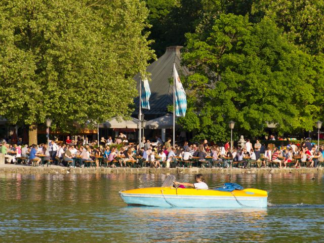 Seen München Kleinhesseloher See Das Offizielle Stadtportal
