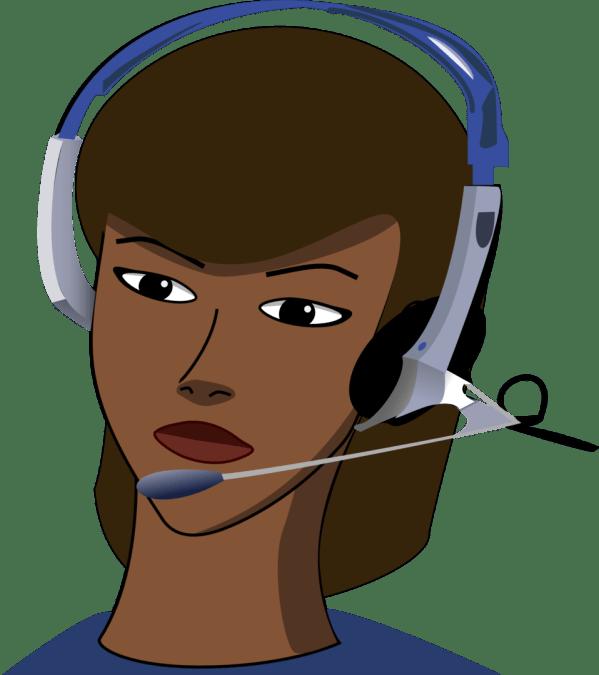 Public Domain Clip Art Call-centre Id